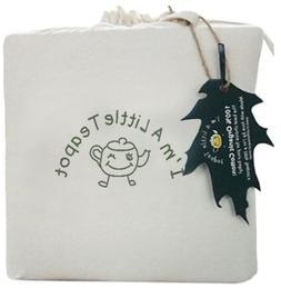 100% Organic Cotton, Waterproof Crib Mattress Pad Cover. Fil