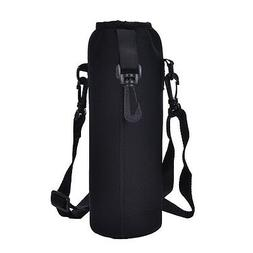 Outdoor 1000ML Water Bottle Carrier Insulated Cover Bag Hold