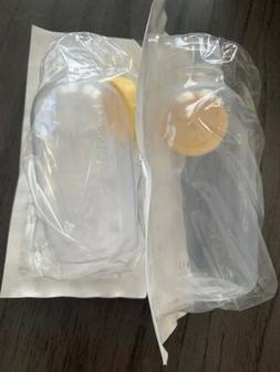 NEW! 2 MEDELA BREASTMILK COLLECTION STORAGE FEEDING BOTTLE S