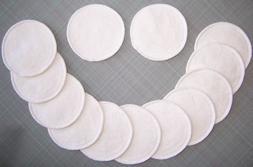 2 Reusable Washable Hemp Organic Cotton Nursing Breast Pads