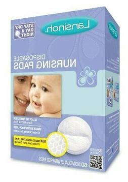 Lansinoh 20265 Disposable Nursing Pads, 60-Count Boxes