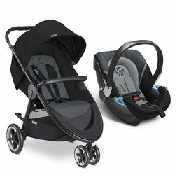 CYBEX 3 IN 1 WITH INFANT CAR SEAT BABY CARRIAGE Travel Syste
