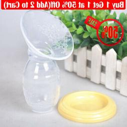 50% OFF Silicone Mom Breastfeeding Pump Baby Feeding Milk Sa