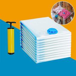5pcs Vacuum Storage Clothes Suction Compressed Bag <font><b>