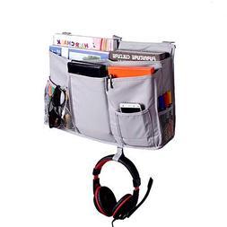 Hanging Storage Bag, Bedside Caddy for Dorm Room Cabin Beds