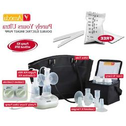 Ameda 17085KIT4 Combo 4 Purely Yours Ultra Breast Pump With