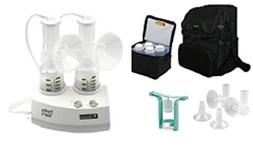 Ameda Purely Yours Breast Pump 2009 with Carry All Bag and C