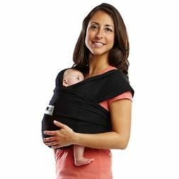 Baby K'tan Original Baby Carrier, Black– Women 6-8   / M