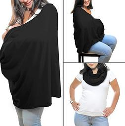 Breastfeeding Cover Infinity Scarf - Nursing Cover Converts