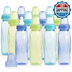 Evenflo Feeding Classic Tinted Plastic Standard Neck Bottles
