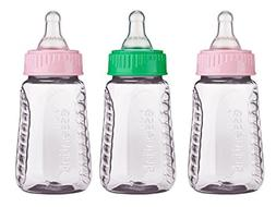 Gerber, First Essentials Clearview Bottles, Assorted Colors