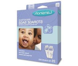 Lansinoh Breast Milk Freezer Storage 6 oz/ 180 ml Bags 25-Pa