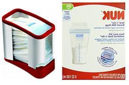 NUK Seal N Go Breast Milk Bags with Bonus Baby Haven Reusabl