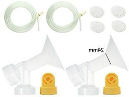 Nenesupply Compatible Pump Parts for Medela Pump In Style Br