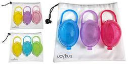 Pacifier Case: purifyou PurePouch BPA-Free Nipple Shield Cas