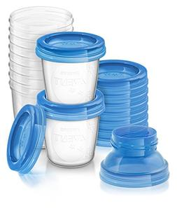 Philips AVENT Breast Milk Storage Cups, 6 Ounce
