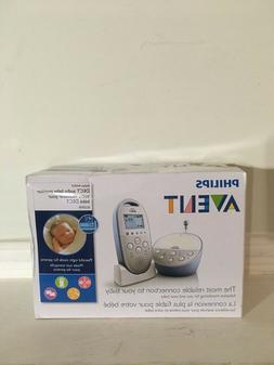 Philips Avent SCD570/10 Dect Baby Monitor, White
