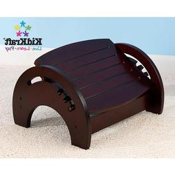 KidKraft Adjustable Nursing Stool - Espresso