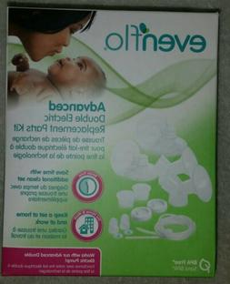 Evenflo Advanced Breast Pump Replacement Parts Kit 2951 NEW