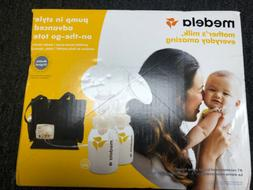 Advanced Double Electric Breast Pump with On-The-Go Tote