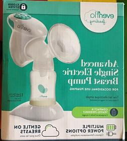 EVENFLO ADVANCED SINGLE ELECTRIC BREAST PUMP LIGHTWEIGHT & P
