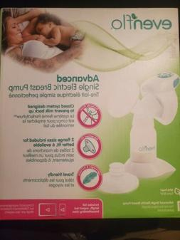 advanced single electric breast pump new open