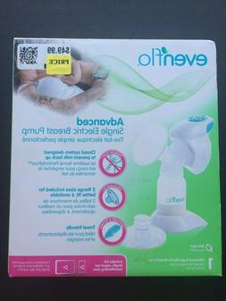 New Evenflo Advanced Single Electric Breast Pump Model:25397