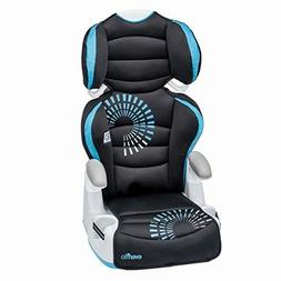 amp high back booster car seat baby