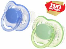 Philips Avent BPA Free Freeflow Pacifier, 6-18 Months Color
