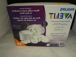 Philips Avent Comfort Double Electric Breast Pump + Bonus Pa