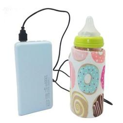 Baby Bottle Warmer Milk Food Portable Heater Travel Car 5V U