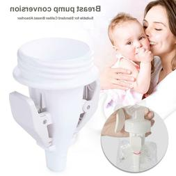 Baby Breast Milk Storage Bags Clip Adapter for Standard/Wide