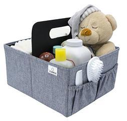 Sorbus Baby Diaper Caddy Organizer | Nursery Storage Bin for