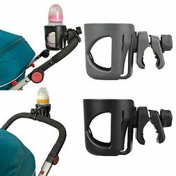 Baby Pram Organizer Bottle Cup Holder Stroller Caddy Storage