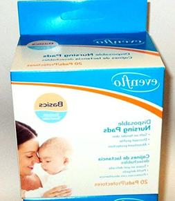 Evenflo Basics Disposal Nursing Pads, 20 pads  for a total o
