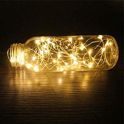Battery Operated - 10 Led Battery Operated Christmas Light O