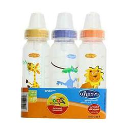 Even Flo Best For Baby 1338311 8 Oz Bottle With Standard Nip