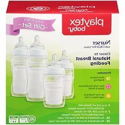 Playtex BPA Free Premium Nurser Bottles with Drop In Liners