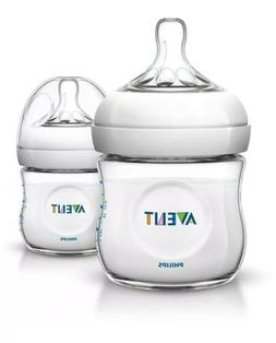 Philips AVENT 4 Ounce BPA Free Natural Polypropylene Bottles