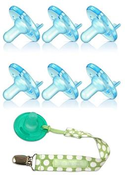 Avent BPA Free Soothie Pacifier 6 Pack - 3+ Months with Paci