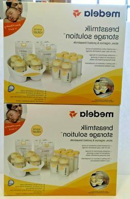 Medela Breast Milk Storage Solution Sets, Lot of 2