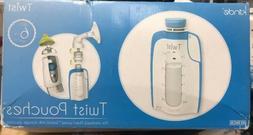 Kiinde Breast Milk Storage Twist Pouch 6 oz - Pack of 80