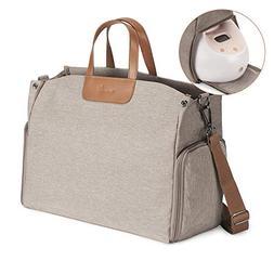 Momcozy Breast Pump Bag, Large Capacity Diaper Bag Nappy Tot