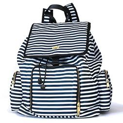Kaylaa Premium Breast Pump Bag - Backpack Luxury Stripe - Fi