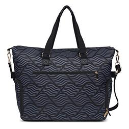 Breast Pump Bag Tote for Work with Staging Mat Sophisticated