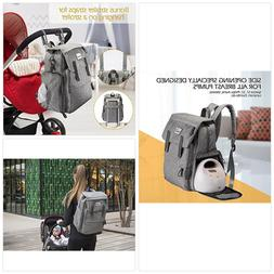 Momcozy Breast Pump Diapers Bag Backpack, 23L Large Capacity