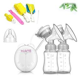BTshine Breast Pump Double Electric - Breastfeeding Massager