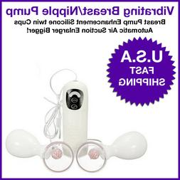 Breast Pump Enhancement Silicone twin Cups Automatic Air Suc