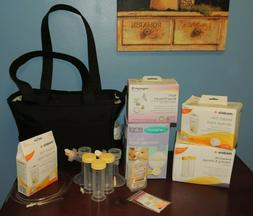 Medela Breast Pump in Style Advanced On the Go bag, Portable