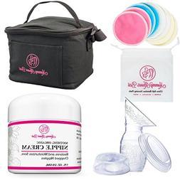 Breastfeeding Bundle Gift Set Kit for Nursing Mothers - Incl